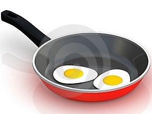 Fried Egg Stock Photo - Image: 19962350