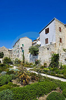 Park At Sibenik In Croatia Stock Photography - Image: 19963522