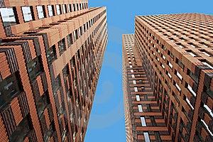 Modern Twin Tower Stock Photo - Image: 19963670