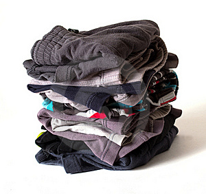 Stack Shorts Stock Images - Image: 19964664
