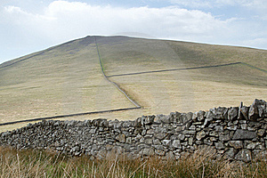 Hill With Walls. Stock Image - Image: 19964891