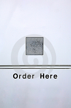 Order Here Stock Photo - Image: 19966990