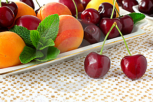 Cherries. Royalty Free Stock Images - Image: 19967389