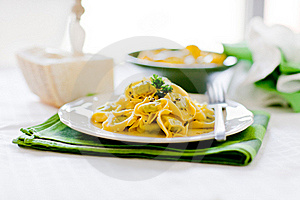 Tortellini With Butter And Sage Stock Photos - Image: 19968623