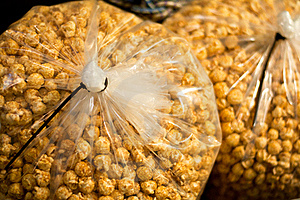 Caramel Flavored Popcorn Stock Images - Image: 19972464