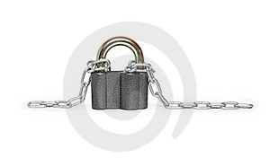 Padlock And Chain Royalty Free Stock Images - Image: 19973029