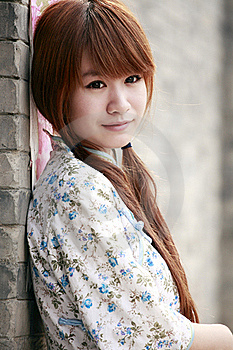 Traditional Chinese Girl Royalty Free Stock Image - Image: 19978346