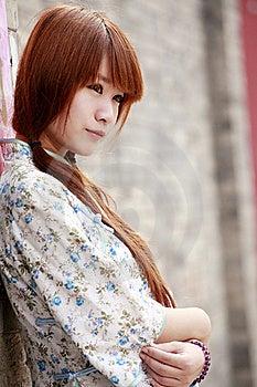 Chinese Beauty Portrait Stock Photos - Image: 19978533