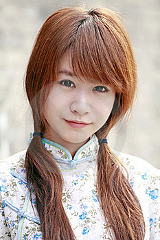 Chinese Beauty Portrait Royalty Free Stock Images - Image: 19978939