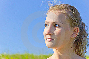 Close Up Portrait Of A Beautiful Female Model Royalty Free Stock Images - Image: 19980139