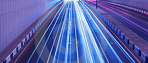 Moving Lights Royalty Free Stock Photos - Image: 19980648