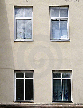 Four Windows Stock Photography - Image: 19981192