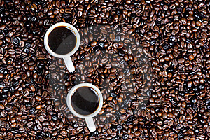 Coffee Cups Stock Images - Image: 19989834