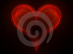 Red Heart Stock Photography - Image: 19991592