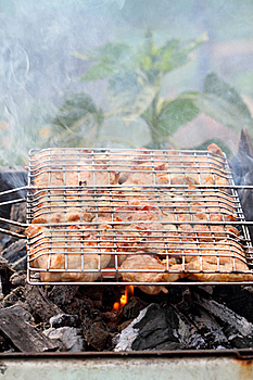 Grilled Meat Royalty Free Stock Images - Image: 19993309