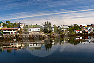 Norwegian Village Svolvaer Royalty Free Stock Images - Image: 19996259