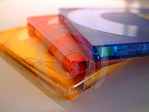 Minidiscs Stock Photos - Image: 20003