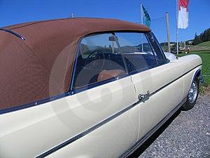 Vintage cabrio automobile Royalty Free Stock Image