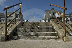 Concrete Steps Stock Images - Image: 20734