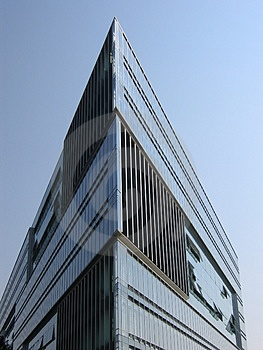 Glass Building Corner Stock Images - Image: 20764