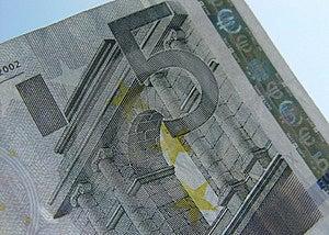 Euro 5 Foto de archivo libre de regalías - Imagen: 20765
