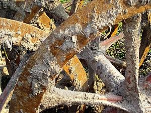 Wheels, Grungy Stock Photo - Image: 20950
