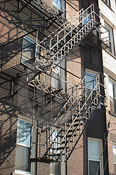 Fire Escapes Stock Photography - Image: 21092