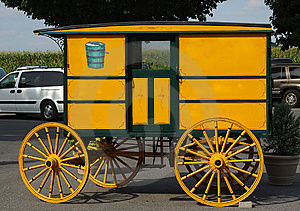 Antique Carriage Stock Image - Image: 21231