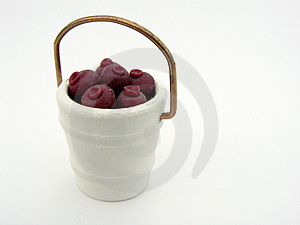 Berries In A Bucket Stock Photos - Image: 21563