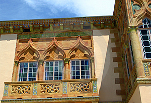 Venetian Gothic Windows Stock Photography - Image: 21702