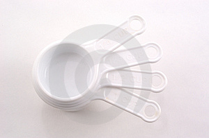Stacked Measuring Cups Stock Photos - Image: 21933