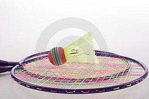 Badminton Set Royalty Free Stock Photos - Image: 22138