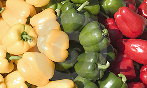 Red yellow green Stock Photos