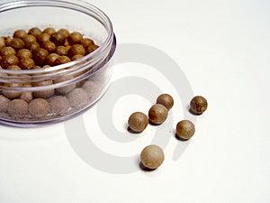 Bronzing Beads Stock Photo