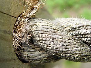 Rope Fence Stock Images - Image: 23164