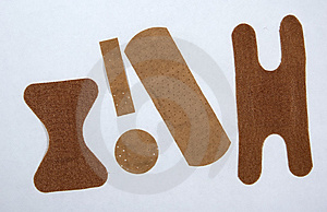 Various Bandaids Stock Images - Image: 23824