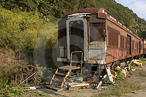 Ancient Train Stock Photography - Image: 23972