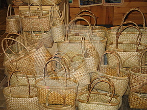 Plaited Bags Stock Photos - Image: 24223