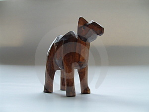 Small statue of a camel Stock Image