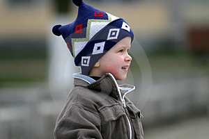 Curious Boy Royalty Free Stock Photos