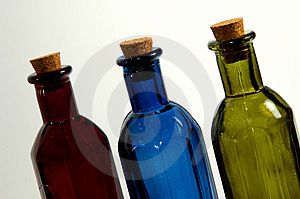 Colored Bottle Royalty Free Stock Photo - Image: 25795
