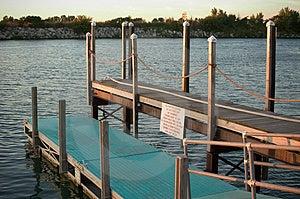 Two Level Dock Stock Image - Image: 25811