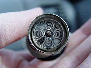 Female Holding A Car Lighter Stock Photos - Image: 25943