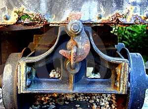 Closeup Of A Wagon Stock Image - Image: 26031