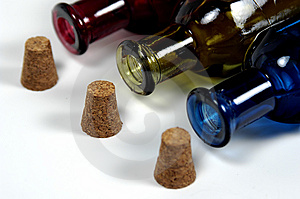 Bottles And Corks Stock Image - Image: 26631