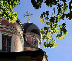 Autumn At Donskoi Monastery Stock Images - Image: 27674