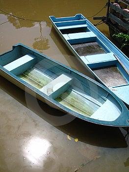 Blue Boats Royalty Free Stock Image - Image: 29366
