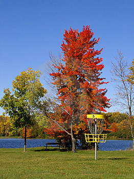 Autumn Disc Golf II Stock Photo - Image: 29590