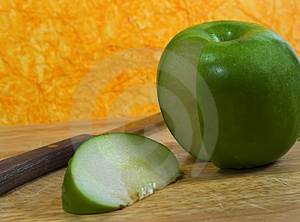 Apple Slice Stock Images