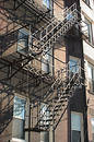 Fire Escapes Stock Photography